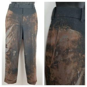 Izod Pants Distressed  32 x 30 Straight Flat DIY